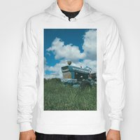 ford Hoodies featuring Ford Tractor by OctaviusEst