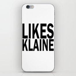 Likes Klaine iPhone Skin