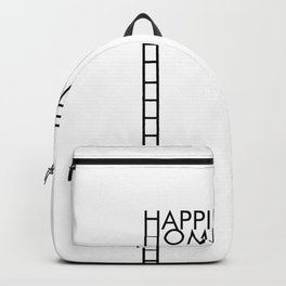 Happiness is Homemade Backpack