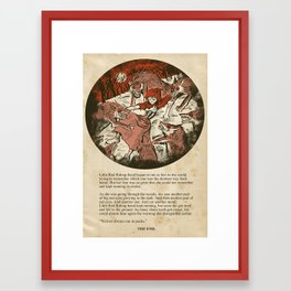 Little Red Riding Hood - Untold Ending Framed Art Print