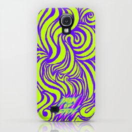 IRON of STEEL green on purple iPhone Case