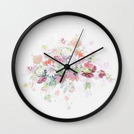 mothersday wedding flowers Wall Clock