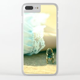 Alice's Escapades ~ Alice & The Chair II Clear iPhone Case