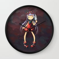 popsicle Wall Clocks featuring Popsicle by Freeminds