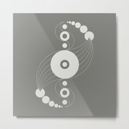 dna aliens, sacred geometry Metal Print