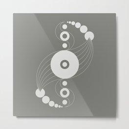 dna aliens, sacred geometry Metal Print