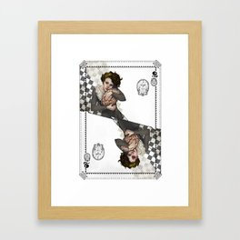 Queen of Brains Framed Art Print