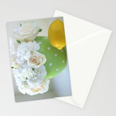 Polka Dots and a Lemon Stationery Cards