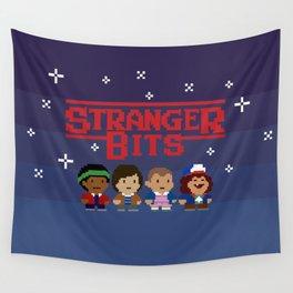 STRANGER 8-BITS Wall Tapestry