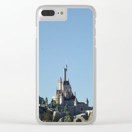 Beast's Castle Clear iPhone Case