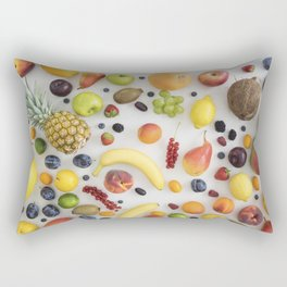 Collection of summer fruits Rectangular Pillow