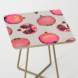 Pomegranate Pattern Side Table
