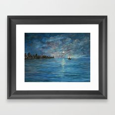 On Our Way Home -#2 Framed Art Print