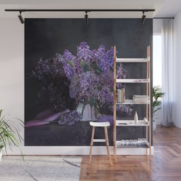 You Had Me At Purple Wall Mural