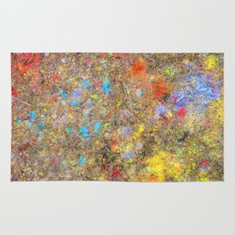 Aftermath of a Color Explosion Rug