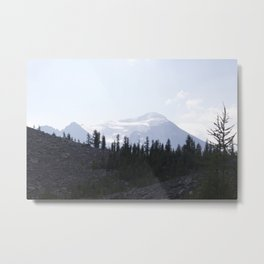 Lake Louise Saddleback 4 Metal Print
