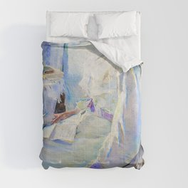 Cecilia Beaux - New England Woman - Digital Remastered Edition Comforters