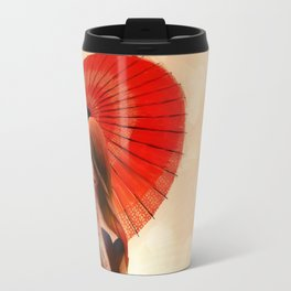 Lotus Girl Travel Mug