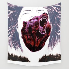 Cry for the lost Wall Tapestry