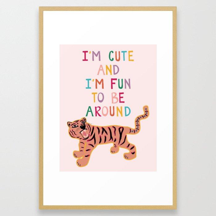 Cute & Fun Framed Art Print