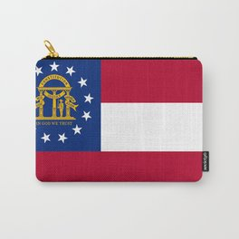 flag of the state of Georgia-Georgian,Gone with the wind,Atlanta,Colombus,Macon,Scarlett o'Hara,Usa Carry-All Pouch