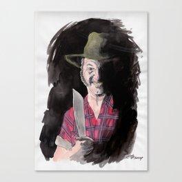 Mick Taylor Canvas Print