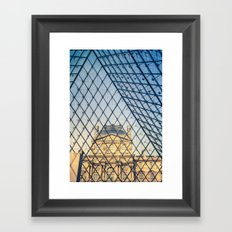 In The Pyramid Framed Art Print