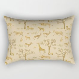 Safari in the Serengeti Rectangular Pillow