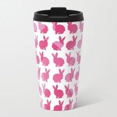 Pink Bunny Travel Mug