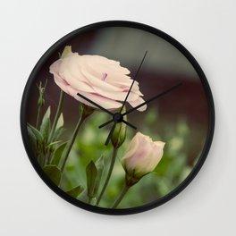 Pink Delight Wall Clock