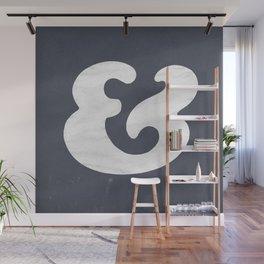 Cooper Black Ampersand Wall Mural