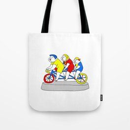 Riding Together Tote Bag