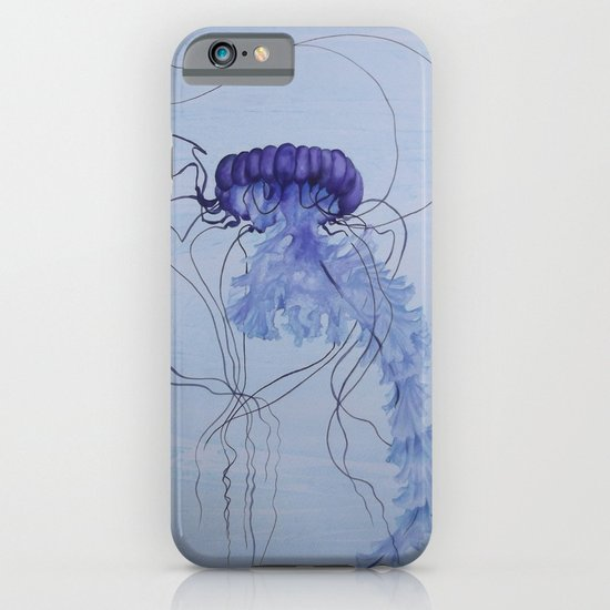 Blue Jellyfish 10 iPhone & iPod Case