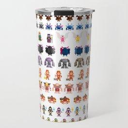 Clash of Pixels Travel Mug