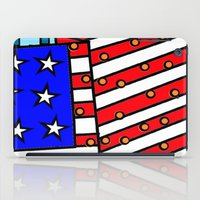 american iPad Cases featuring American by Mariana