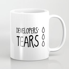 Developers' Tears Coffee Mug