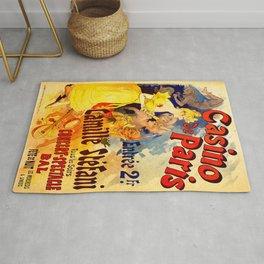 Vintage poster - Casino de Paris Rug