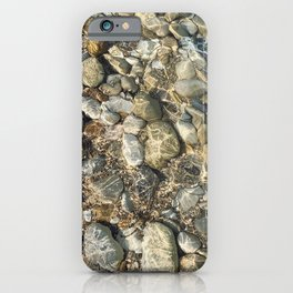 Crystal clear water. iPhone Case