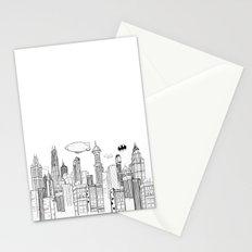 Gotham City Skyline Stationery Cards