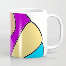 Colors jellyfish Coffee Mug