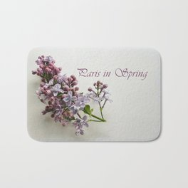 Paris in Spring Bath Mat