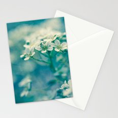 little blue and green Stationery Cards