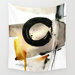 Enso Abstraction No. 105 by Kathy morton Stanion Wall Tapestry