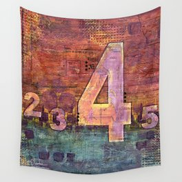 Journey by Number: 4 Wall Tapestry