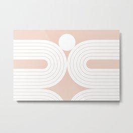 Abstraction_LINES_Minimalism_001 Metal Print