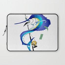 Sailfish Pole Dancer Laptop Sleeve