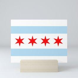 Chicago Flag Mini Art Print