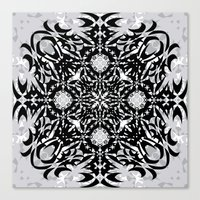 gothic Canvas Prints featuring Gothic by Ornaart