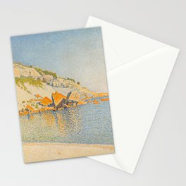 "Paul Signac ""Cassis. Cap Lombard, Opus 196"" Stationery Cards"