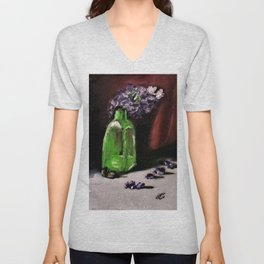 Bottled Purple No2. Unisex V-Neck